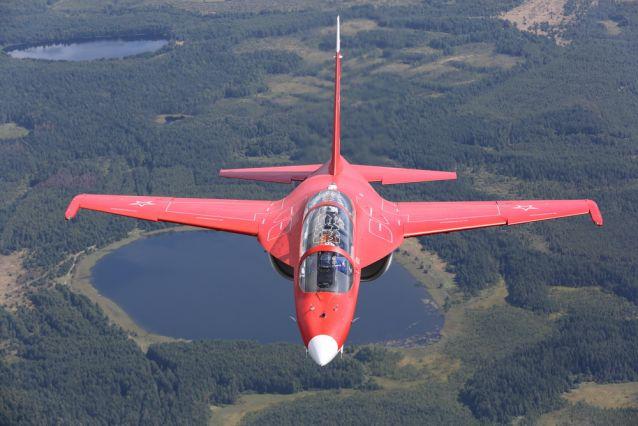 Самолет производства корпорации