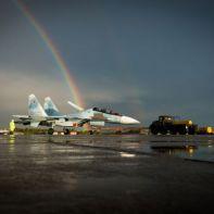 Очередной Су-30СМ чтобы ВВС России