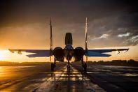 Су-30СМ получай ВПП ИАЗ