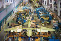 Цех копмоновки различных узлов Су-30СМ