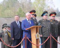 Олег Демченко в церемонии передачи Як-130 МО Республики Беларусь