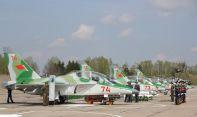 Первая армия самолетов Як-130 ВВС Республики Беларусь