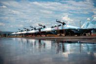 Эскадрилья Су-30СМ ВКС России