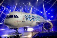 Выкатка первого самолета МС-21