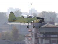Як-152 во полете