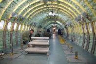 пассажирский зал самолета МС-21-300-0001