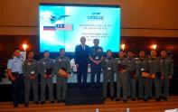 Встреча О.Демченко вместе с пилотами Королевских ВВС Малайзии