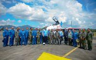 """Летчики """"Русских Витязей"""" равным образом Королевских ВВС Малайзии"""