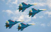 """""""Русские Витязи"""" получи и распишись Су-30СМ"""